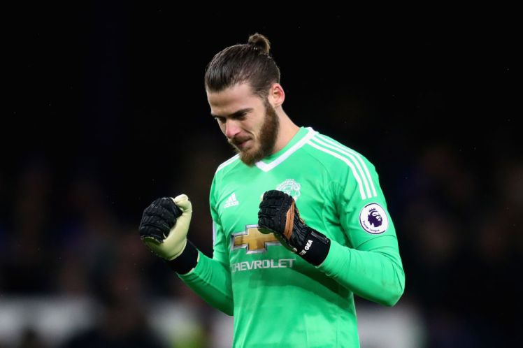 David de Gea has signed a new contract to stay with the club until 2023