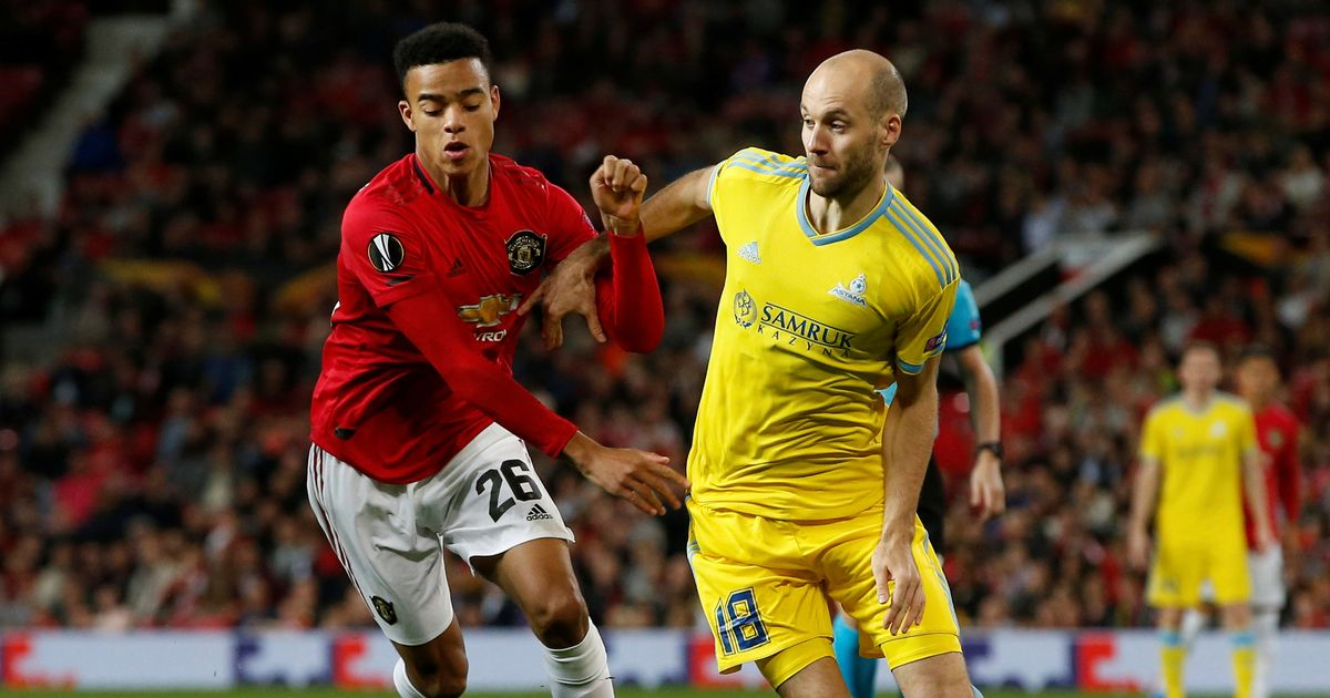 manchester united vs astana : United dominated the first half