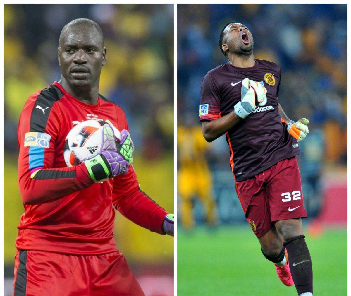 Itumeleng Khune agrees that Denis Onyango is the best goalkeeper in PSL