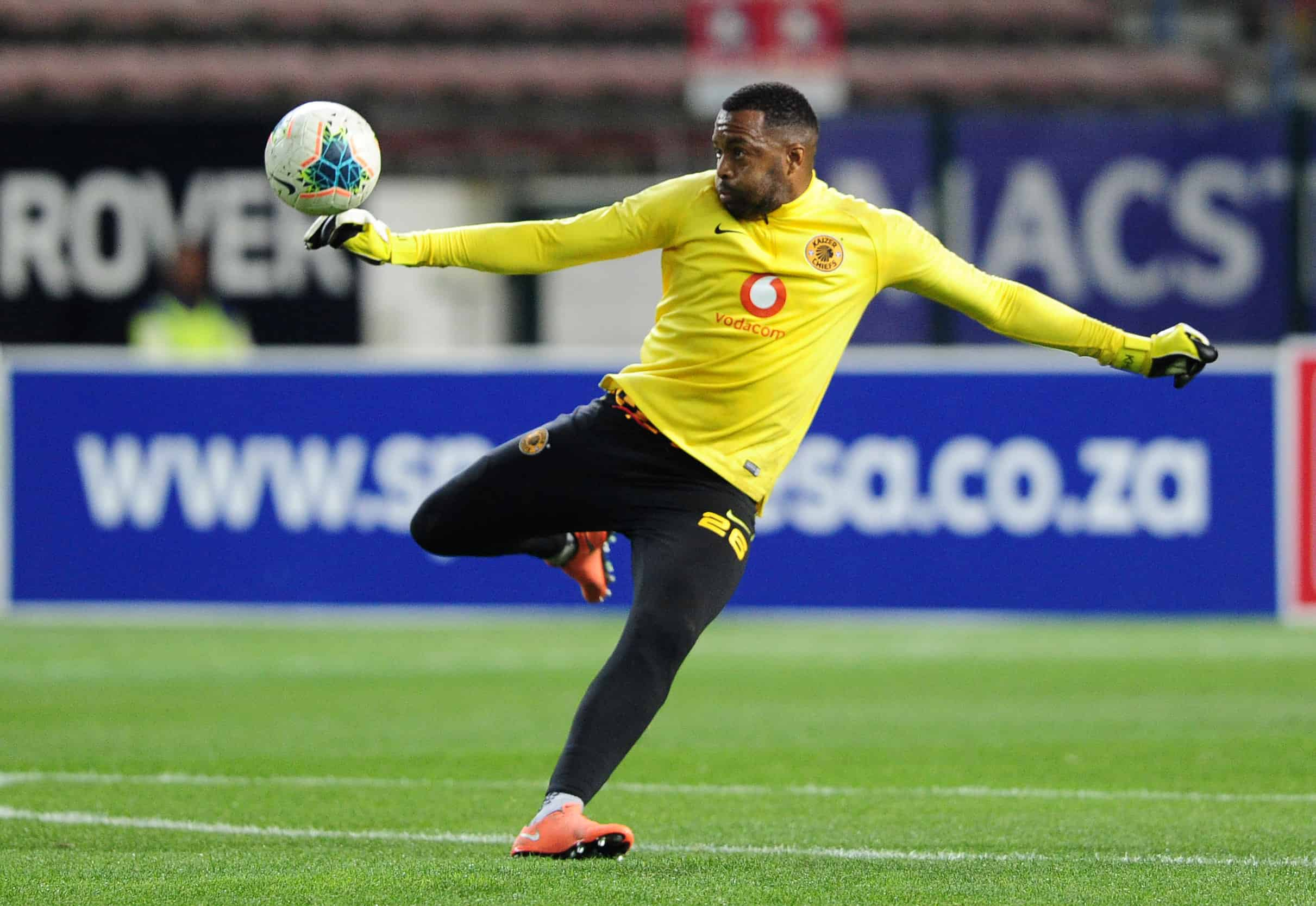 Chances are high for Itumeleng Khune to start the derby