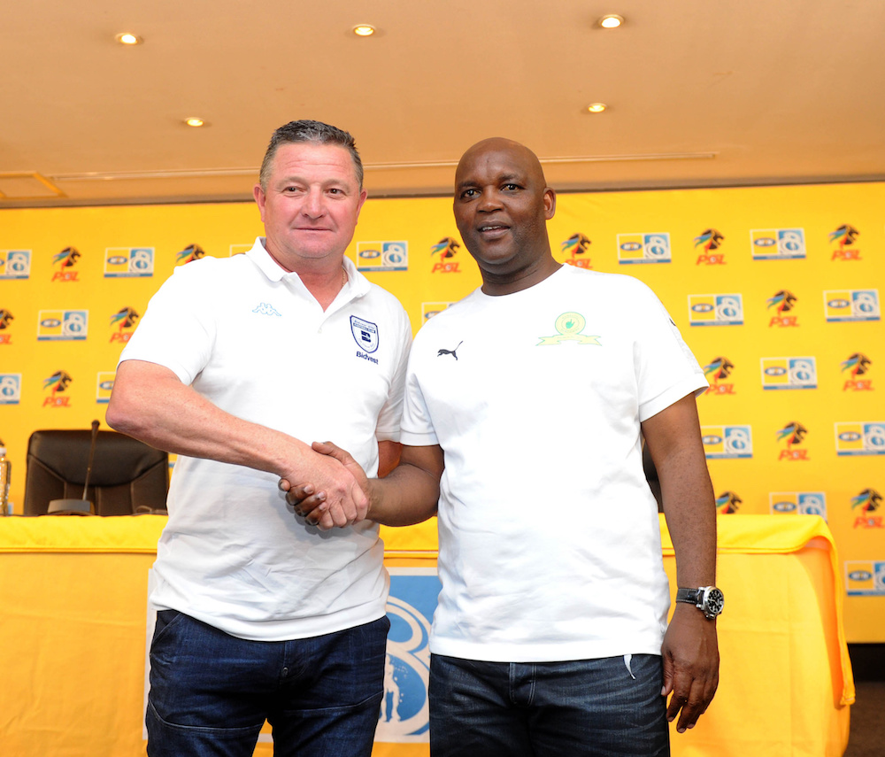 Pitso Mosimane wants  Gavin Hunt to beat Kaizer Chiefs for him