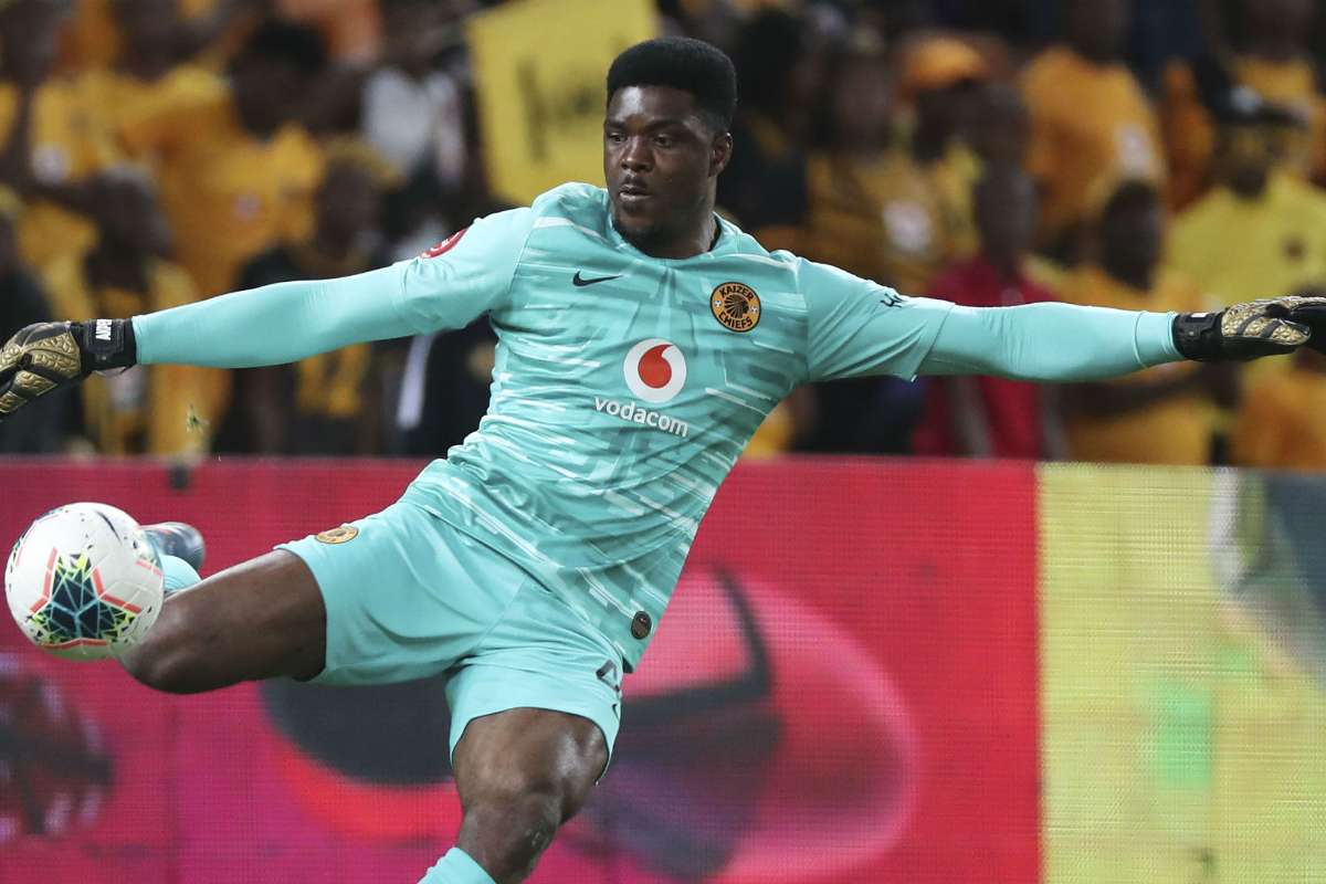 Daniel Akpeyi's mistakes put Kaizer Chiefs in trouble