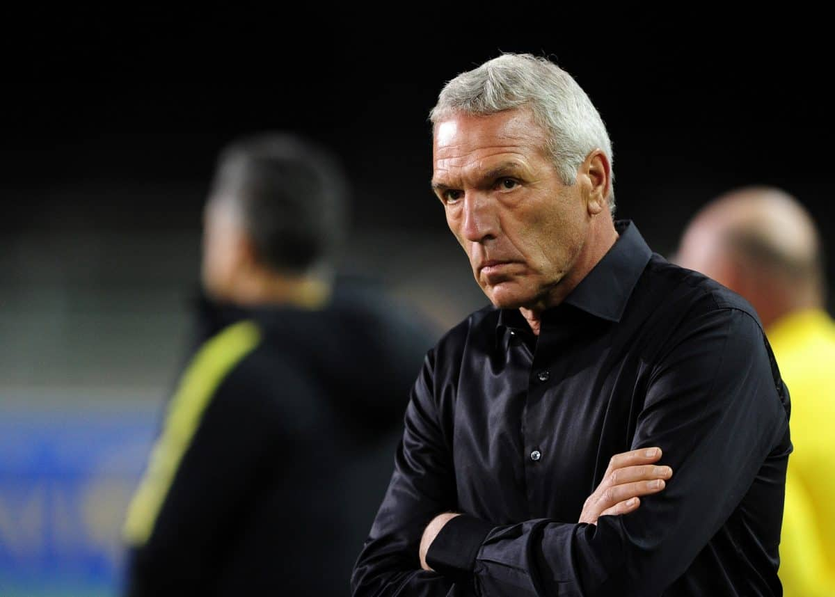 Ernst Middendorp's strategy confuses a lot of people
