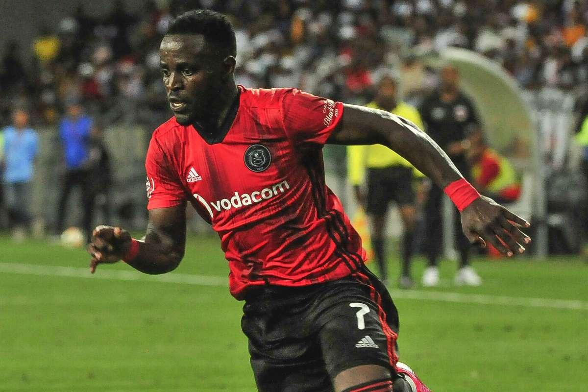 Gabadinho Mhango is costing Orlando Pirates