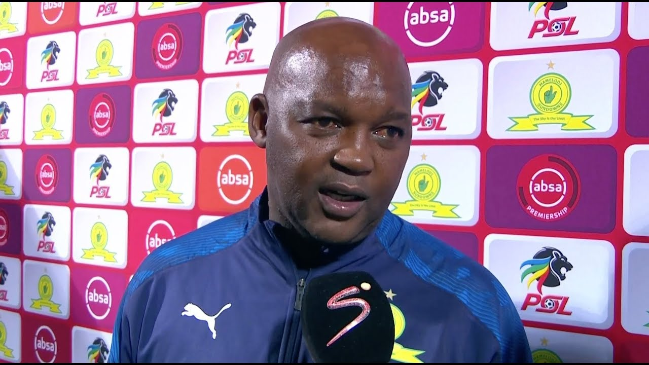 Pitso Mosimane's contract negotiations stuck at 80%