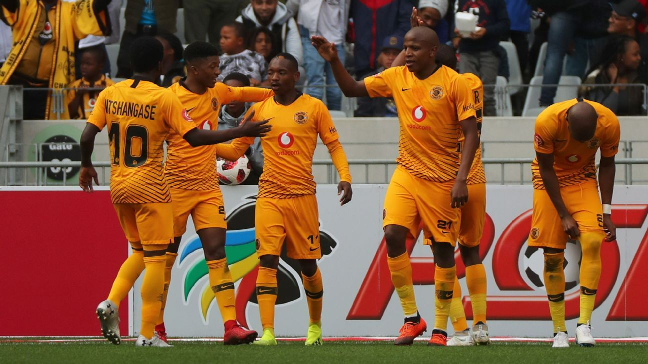 Kaizer Chiefs almost dominated the new Bafana Bafana squad for AFCON