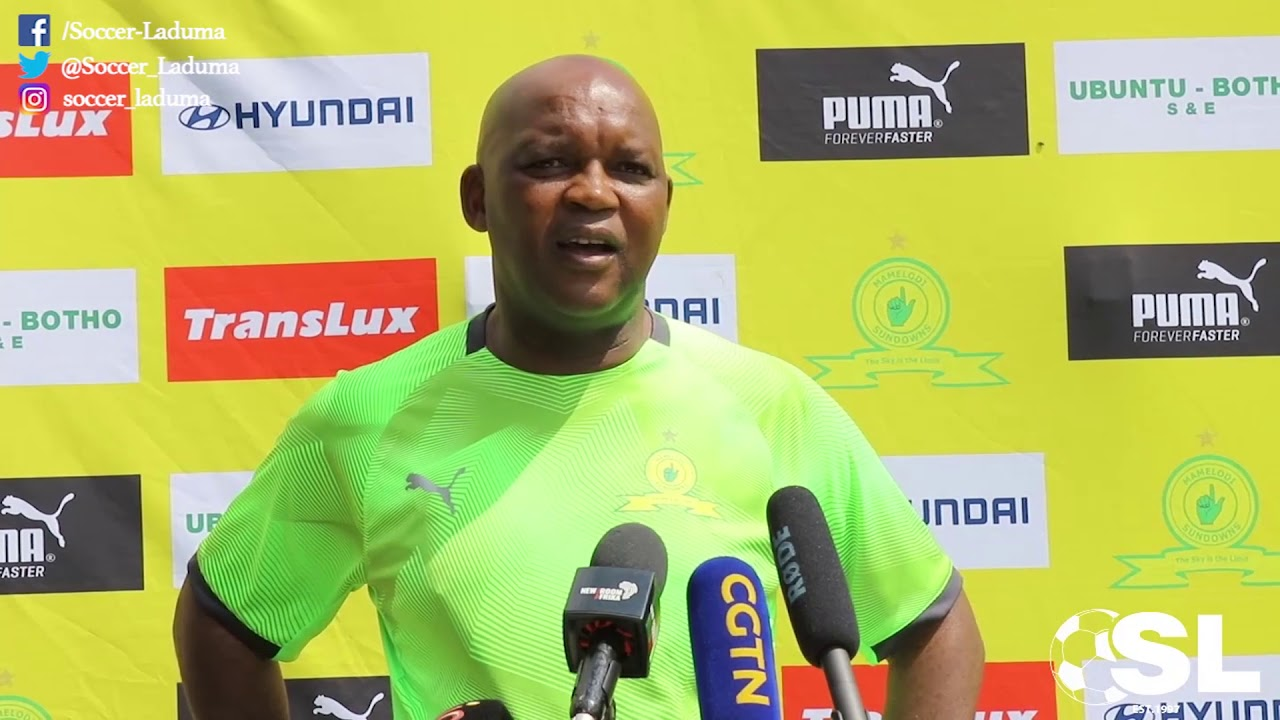 Pitso Mosimane  is to leave his role as Mamelodi Sundowns manager in June ?