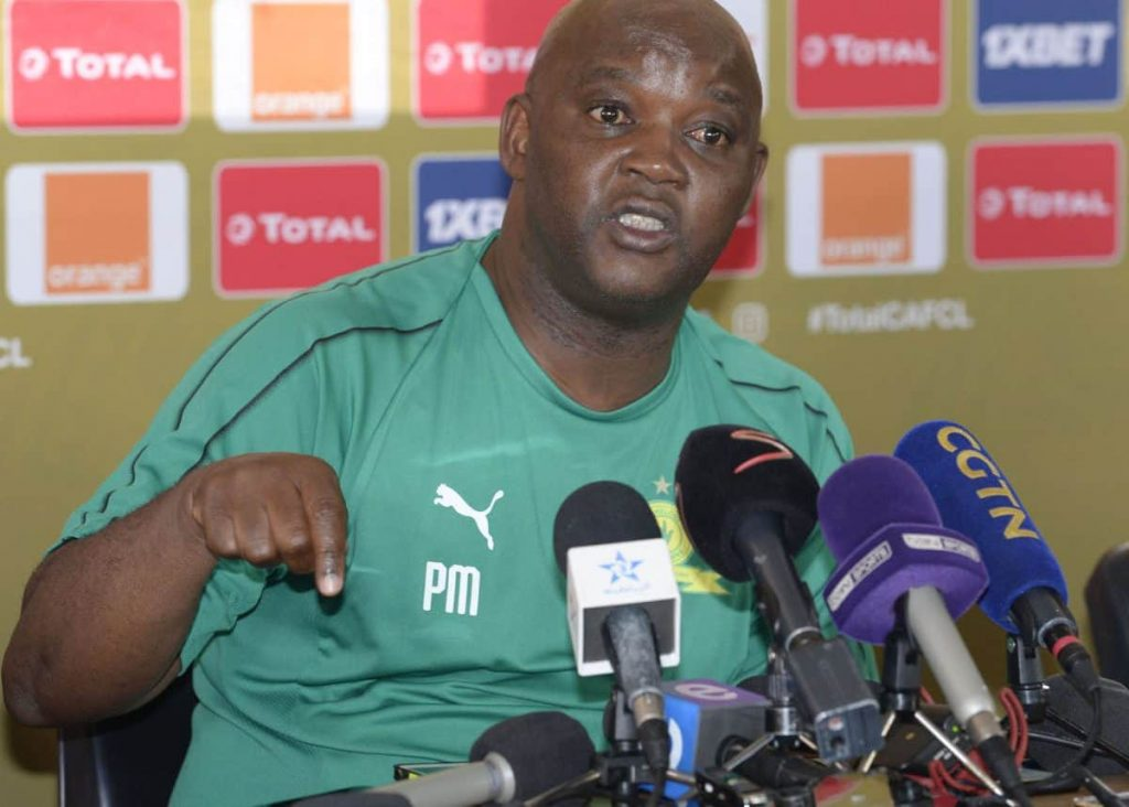 Pitso Mosimane is focusing on South American players