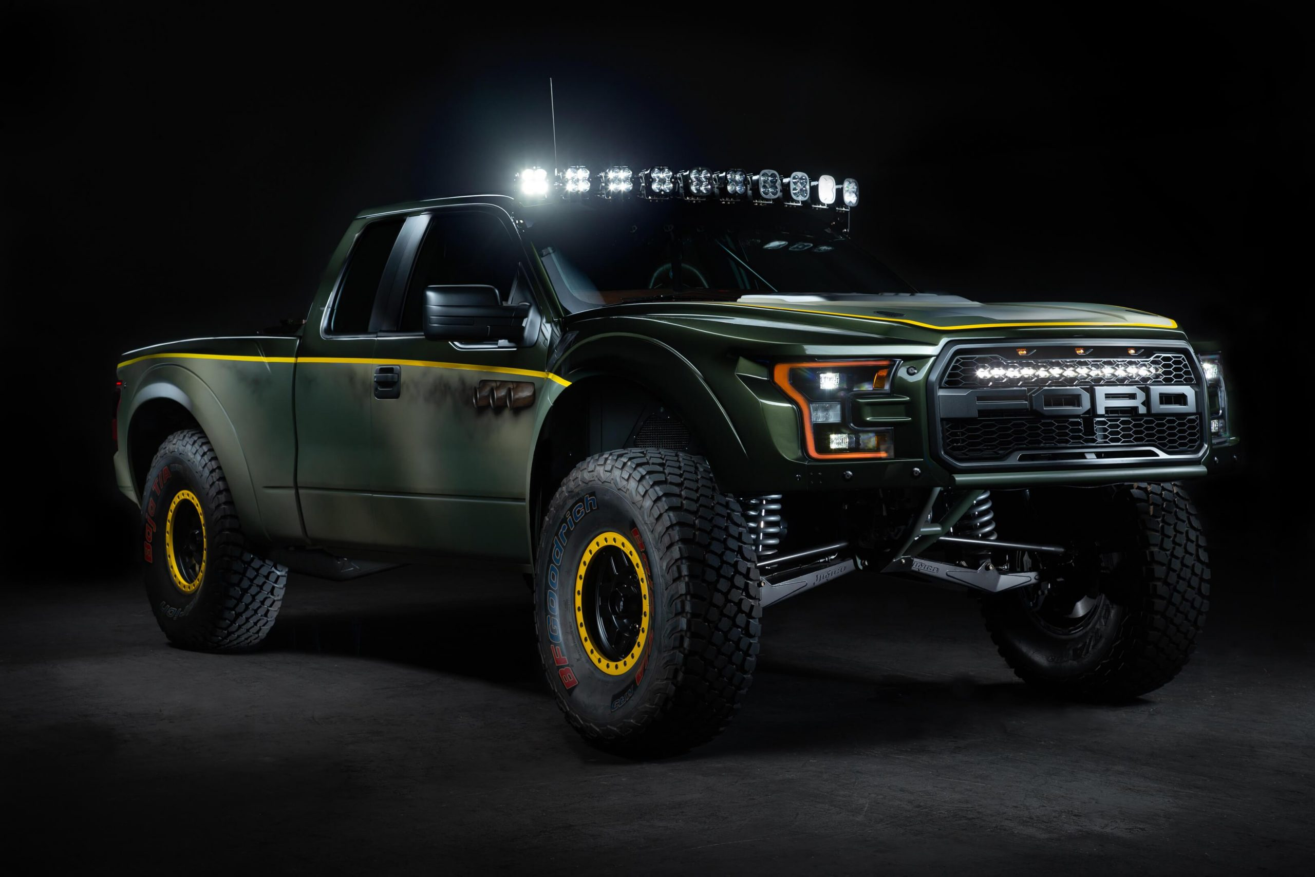 The Jim-co Racing Ford F-150 Raptor is a great car