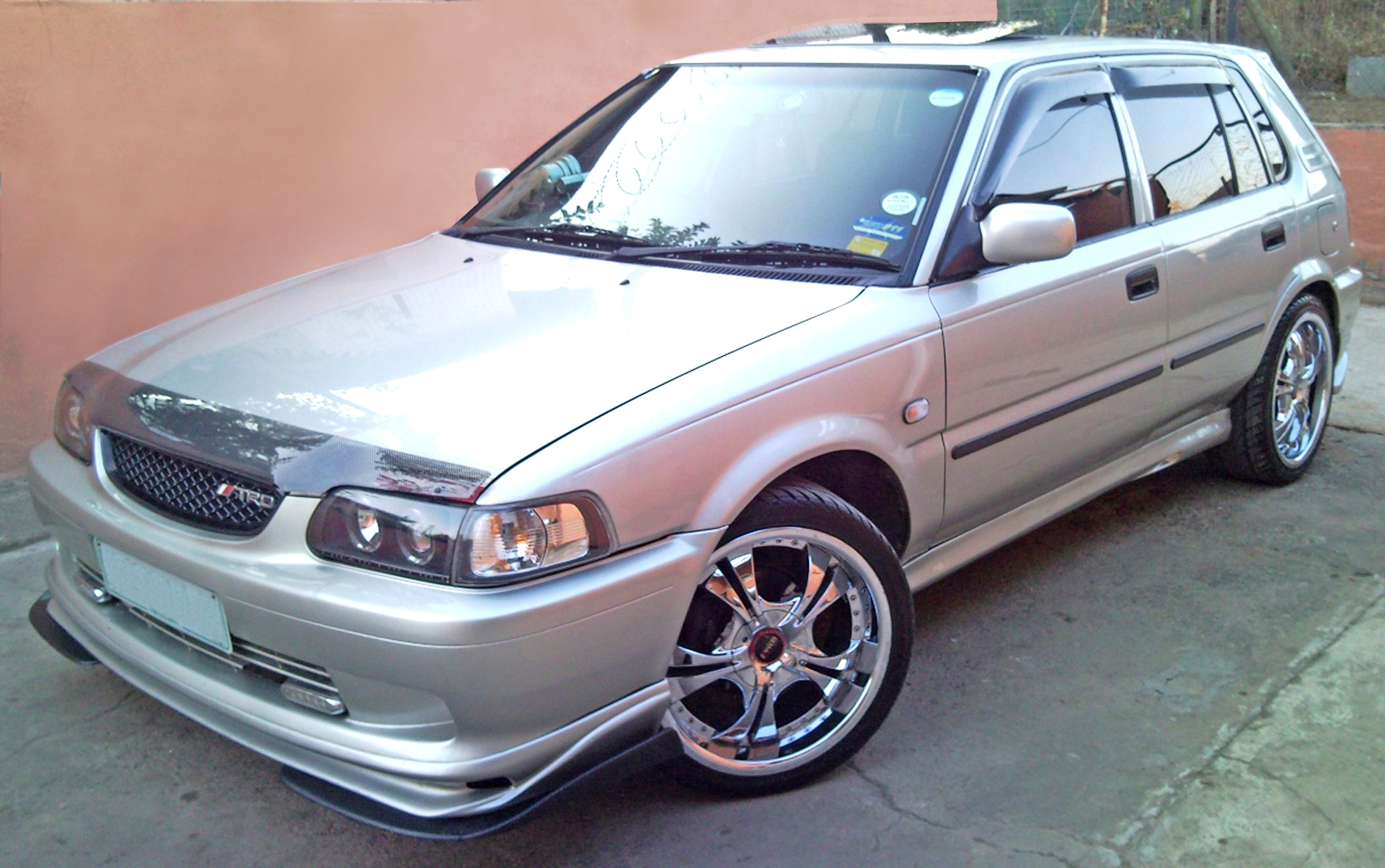 Toyota Conquest was renamed Toyota Tazz in South Africa
