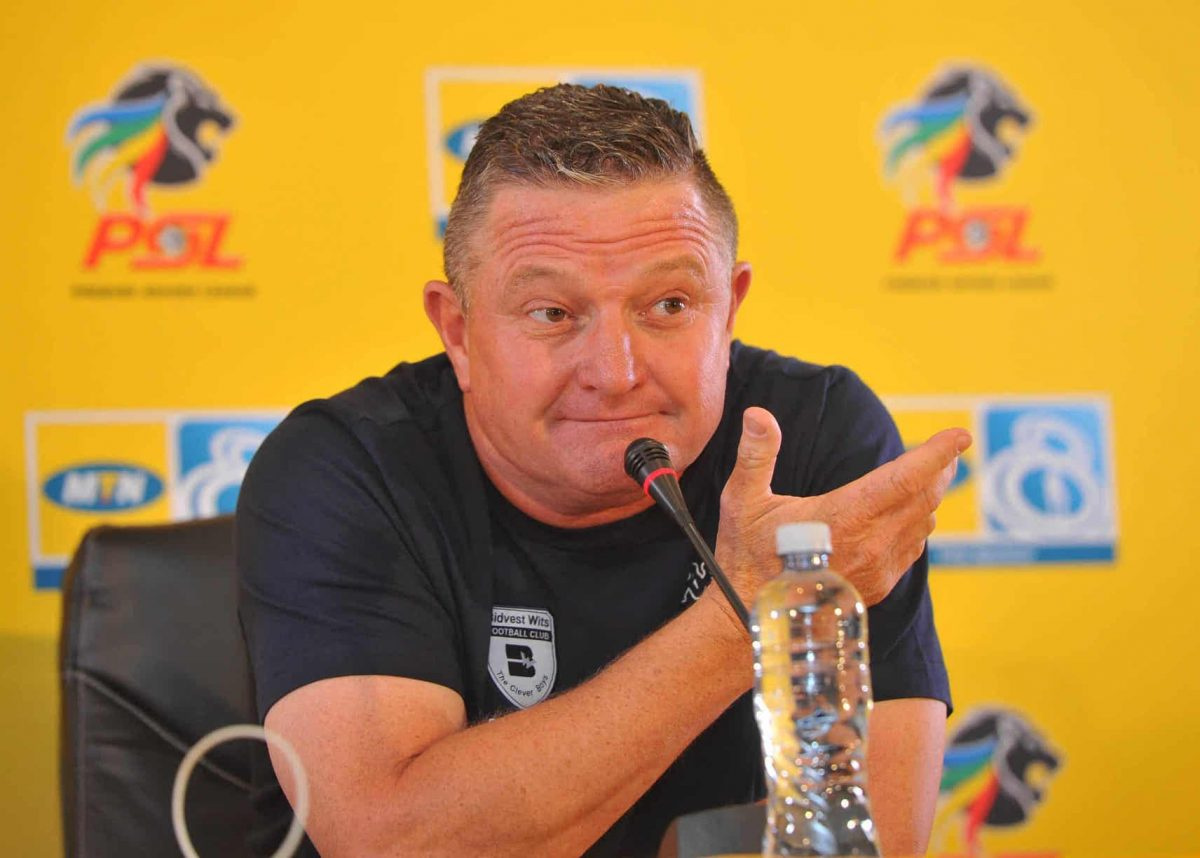 Gavin Hunt is not keen to move to Venda with Bidvest Wits
