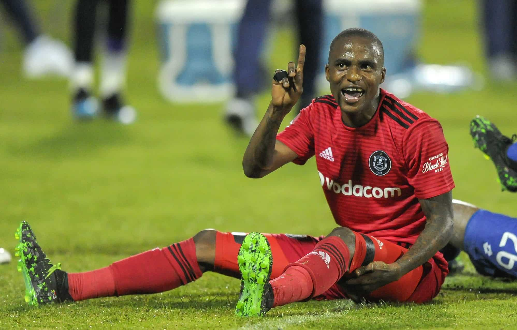 Orlando Pirates FC disciplines Thembinkosi Lorch and Justin Shonga