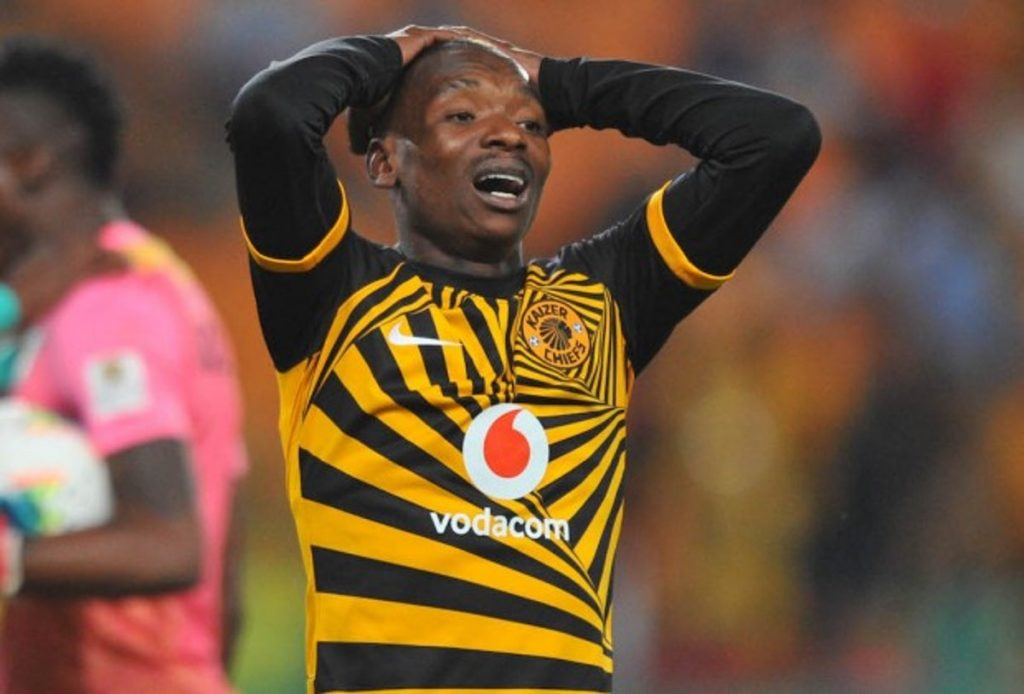Khama Billiat missed out on joining Manchester City