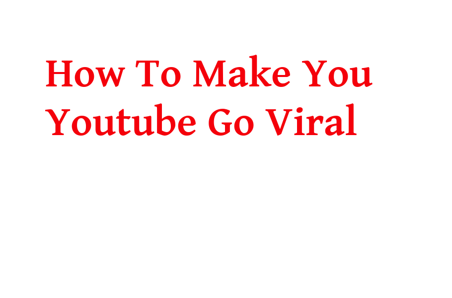 How To Make Your Youtube Videos Go Viral In 2020 In this video we did explain a lot of tricks you can use to make your video viral on Youtube so that you can make more money from your videos. There are many benefits in making your video Viral , Apart from making money you will reach out on a lot of people who wanted. You can see that just by doing that you will be helping a lot of people in the process . List of the steps to achieve that goal 1. Don't more than 50% of your videos to be the videos you like but do videos people like because you are not the audience but they are. 2. Do videos people search for , so by doing that you are helping them get solutions so they are going to come back yo your channel whenever they have problems and some are going to ask you to make specific videos. 3. Record a video everyday because this helps you and your audience to be busy and that helps your audience watch new content daily. Just like Television channels , there are people who love watching TV all the time. So your Youtube channel can be converted into a Television channel for some people. I guess you would like to see people get addicted to your channel so give them contend daily or at least a video a week or two times a week. 4. Create great thumbnails , this is something very important because it tells the view what he or she must expect in the video. So even a lot of people just clicks on videos just because of thumbnails. If your thumbnails are good then you stand a very good chance to get a click on your video even from people who are not subscribers to your channel. An also Youtube recommends them it is part of optimization and optimization is very crucial. 5. Try to do longer videos where necessary , remember youtube is watch time. You when your channel is new it needs 4000 hours watch time and 1000 subscribers so that means you really need that watch time. I guess you can see how necessary it is to create longer videos on your channel but if you can't then you may leave it. 6. Makes sure people understands your message in the video or make sure they get what they came for on your channel. Once they get what they want they will come back for more. 7. Make sure you put a meaningful title on your video title section. This is a major key because title attract more than half of the people who view your videos to click on them. So a great title can make your videos go viral. So please work on your titles all the time. Titles also works like key works so if someone search for something on google or youtube the system goes and check the titles. So this a good title can also make your content rank well in search engine and big ones like google and youtube itself. 8. Put a description on your video and try to explain a bit what is in the video . This will spice up things for you for instace some might not understand because of your accent but if you write what you said in the video it will help a person understand better. So a great description really tells Youtube that you really care about your audience and you want them to understand well about the topic in your video content. 9.Tags are also crucial because they are part of description so never forget to get your tags right all the time you upload a video. 10. Share you videos on twitter facebook and all other social media platforms because there are billions of people online you never know you video might go viral also on social media so this will bring a lot of people on your youtube channel. Social media its a must because you are trying also to take a chance of free advertisement in the process you will get your channel more popular just by doing that. 11. This might be something like a bonus trick and don't take the trick for granted because it can help you get more views and more visitors plus subscribers mostly from search engine. Please allow people to embed your videos on their website because its free advertisement. So if a person watch a video from where it was embedded the views are still counted on you . So you have a website just embed them there yourself but the website must be of the same category aligned to your channel. You will get more people to spend more time on your website also you will get youtube views.