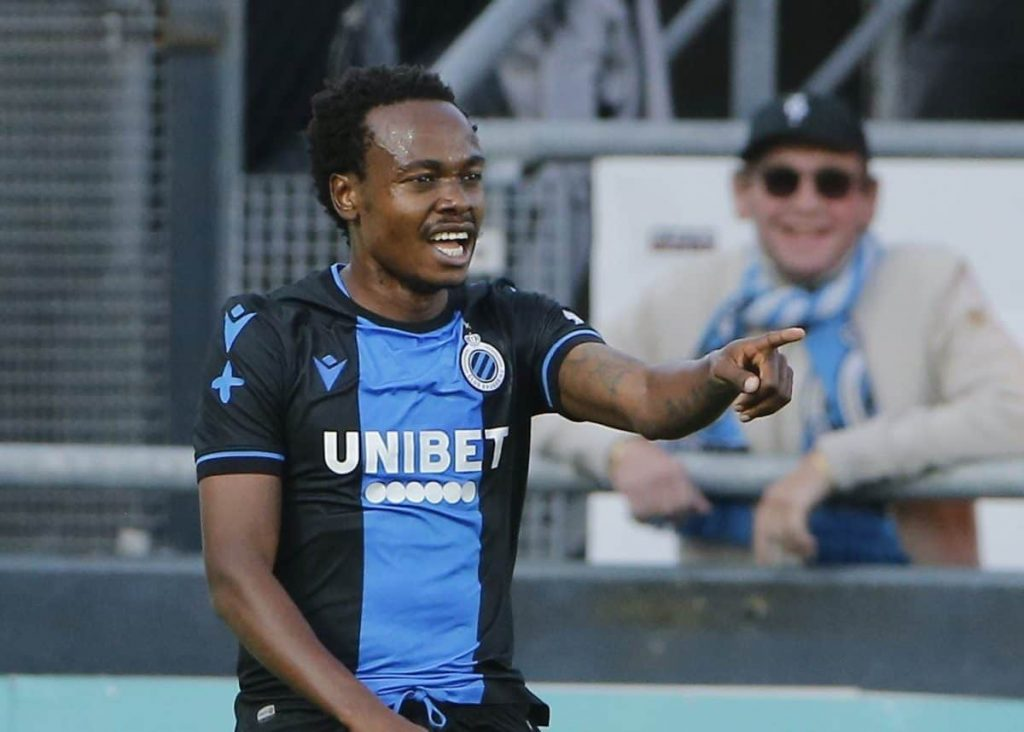 Percy Tau is trending because is one of the best