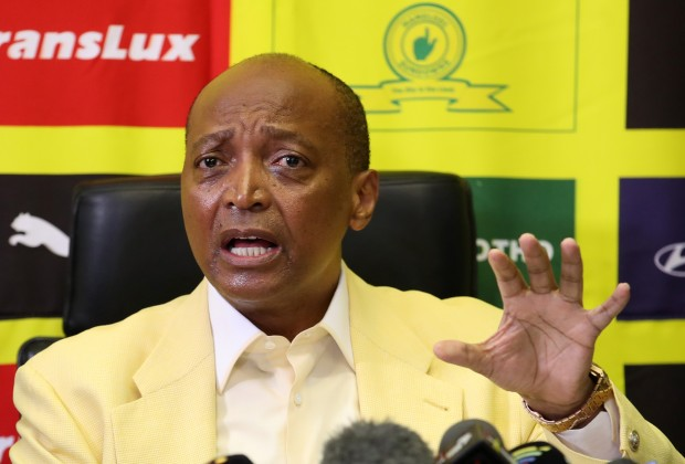 Sundowns' President Mr Patrice Motsepe is going to punish whoever is responsible for the issues of Langerman during Nedbank finals.