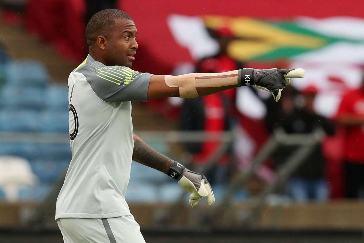 Itumeleng Khune is blamed by some people and some defended him