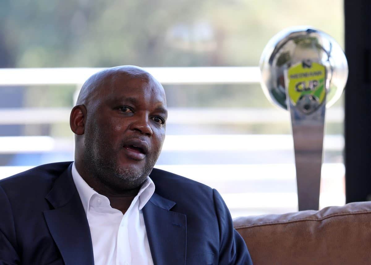 Pitso Mosimane refused to apologise after meeting Patrice Motsepe