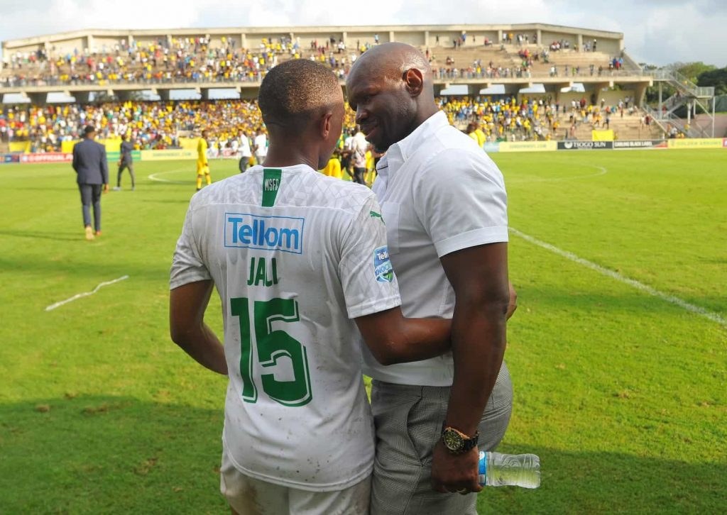 Steve Komphela is very happy to be a member of the great Mamelodi Sundowns