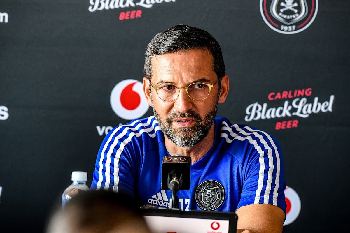 Orlando Pirates coach Josef Zinnbauer left South Africa