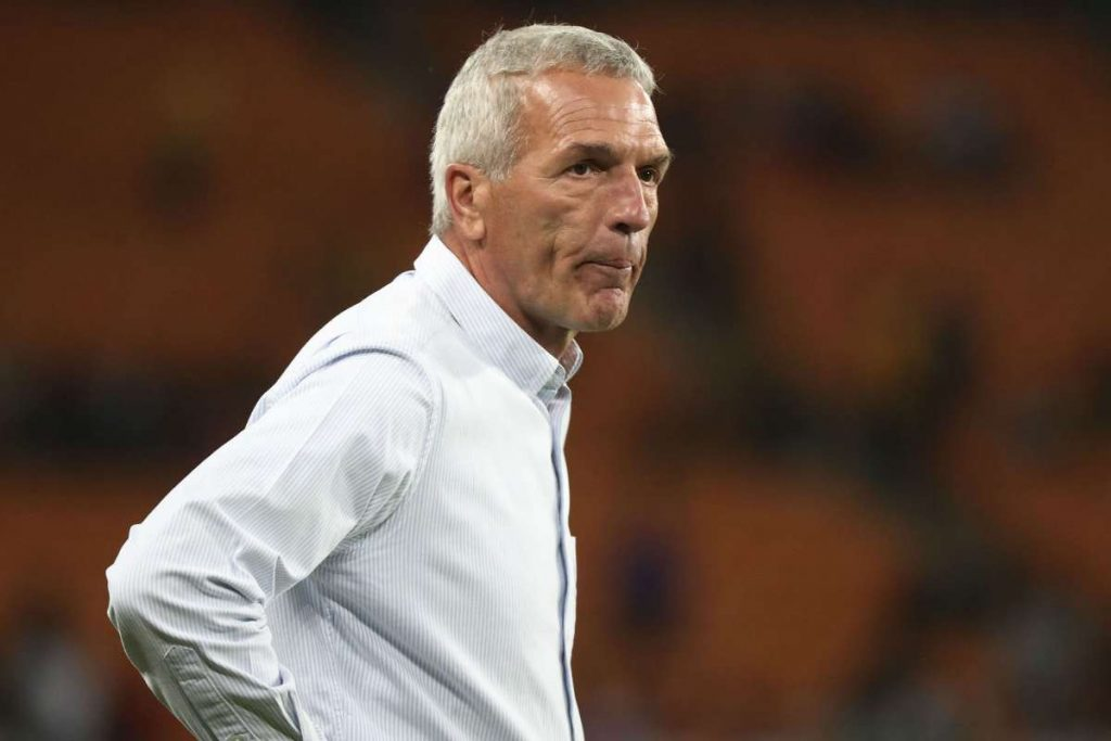 Kaizer Chiefs fired the coach and fans welcomed the decision