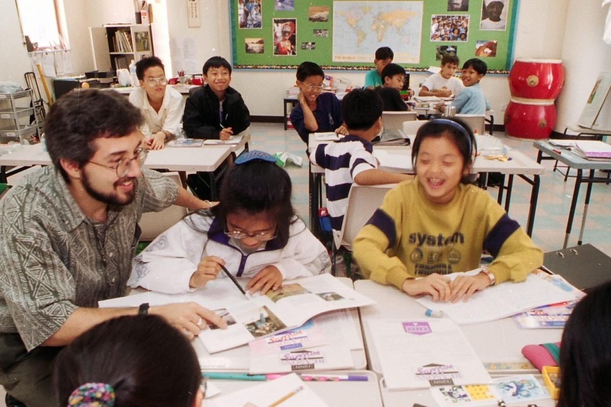 English teachers working in Beijing China