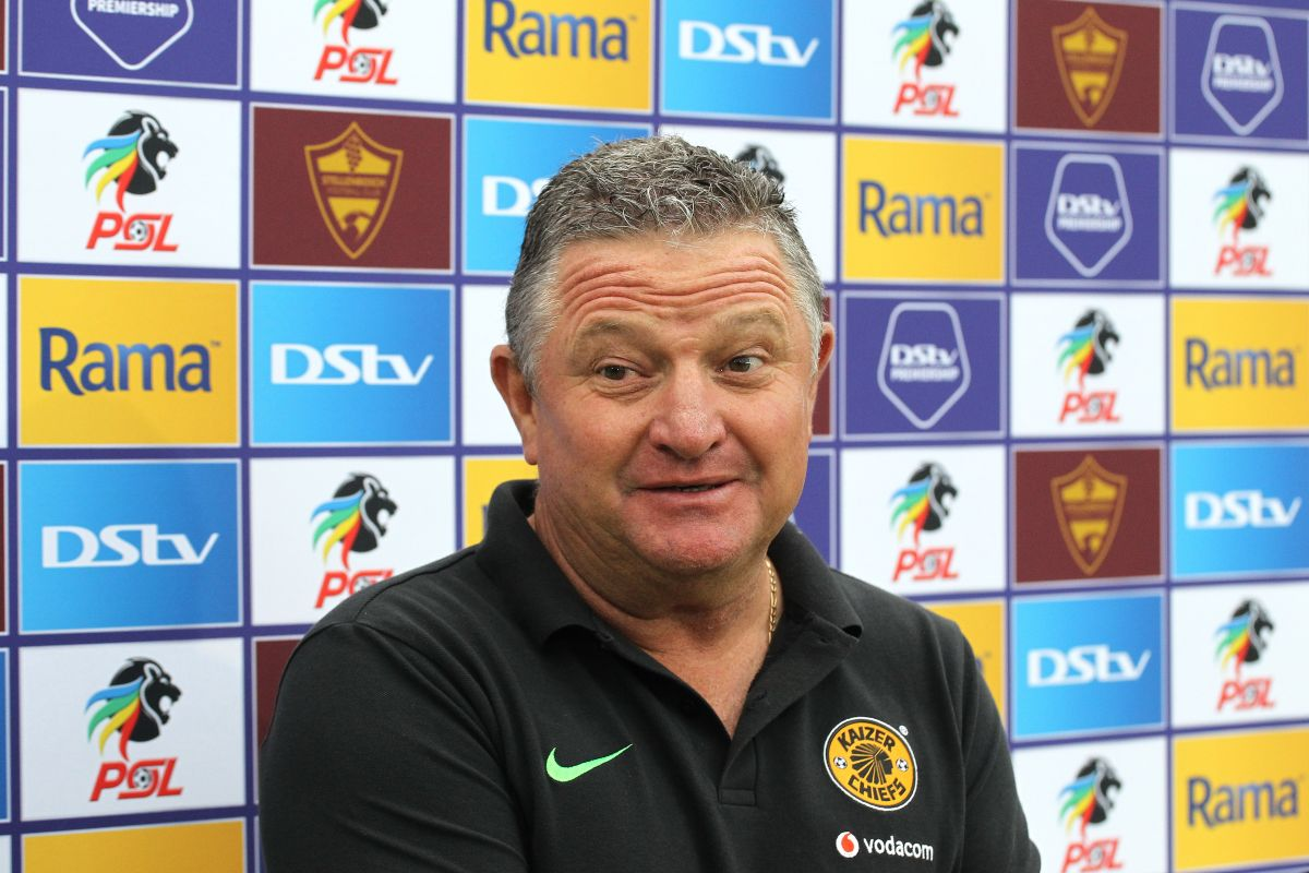 Gavin Hunt is the best coach for Kaizer Chiefs